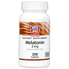 Rite Aid Melatonin, 3 mg, 200 Tablets