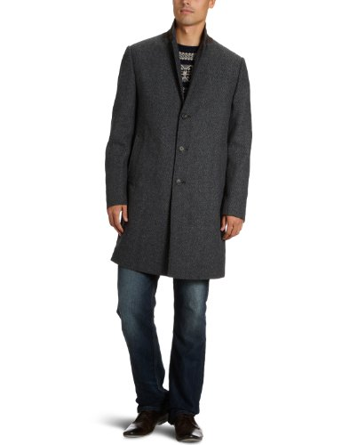 Marc O'Polo Men's 229 0432 71048 Short Coat Grey (959 Cloud Grey) 54