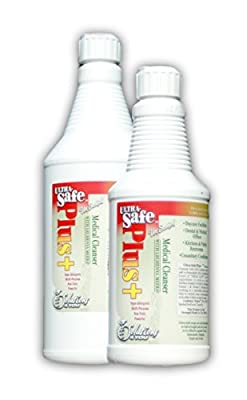 Ultra-Safe Medical Cleaner (Hypo-Allergenic & Non-Toxic)* (Buy 1 Get 1 FREE) Antimicrobial* Eco Friendly* Powerful* In Today's Crisis - Are You Prepared & Are You Protected? Kills Bacteria; (Ecoli, Salmonella, Shigella, Staph & Strep)* Use in Animal Shelt
