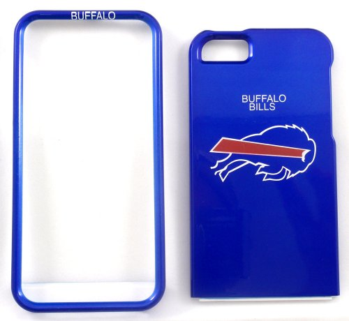Buffalo Bills iPhone 5 Glossy Faceplate Rigid Case Snap-on NFL