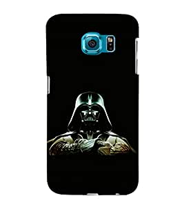 printtech Army Masked Man Back Case Cover for Samsung Galaxy S6::Samsung Galaxy S6 G920