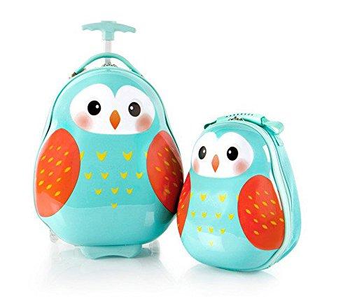 heys-america-travel-tots-kids-2-pc-luggage-set-18-carry-on-luggage-13-backpack-owl