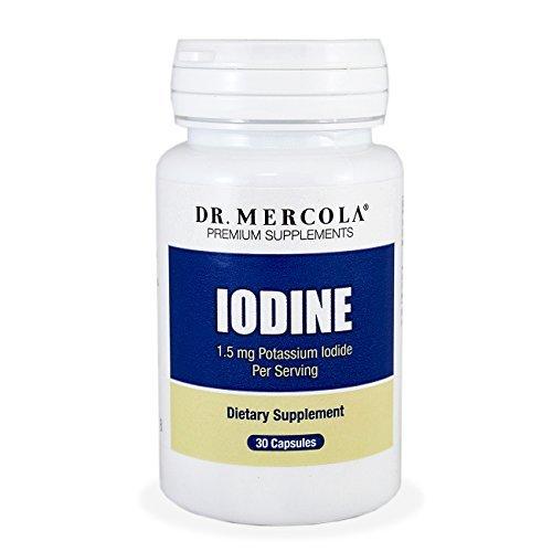 Dr. Mercola iode - iodure de Potassium de 1,5 mg