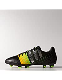 Adidas nitrocharge 2.0 Firm Ground Cleats [CBLACK/SILVMT/SOGOLD]