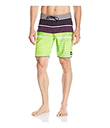 Quiksilver Men\'s AG47 Everyday Scallop Boardshort,AG Everyday Scallop Plum Per,36