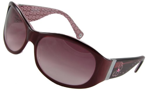 Coach Sunglasses, Suzie S446, Burgundy Frame/ Fade Rose ...