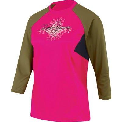 Buy Low Price Louis Garneau 2009/10 Women's Tattoo 3/4 Sleeve Cycling Jersey – Pink Sorbet – 9820424-610 (B001OOCO5K)