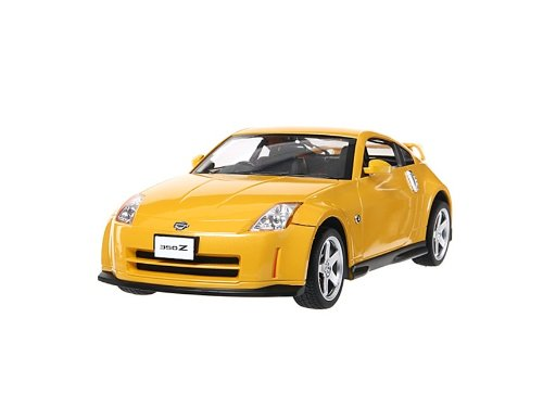 RASTAR Nassan 350Z 27800 1:14 6 Channel Remote Control Car Model with Light (Yellow)