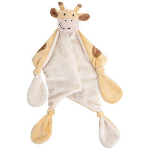 JoJo Maman Bebe Giraffe Comforter Toy - 1