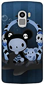 The Racoon Lean Spooky hard plastic printed back case / cover for Lenovo K4 Note