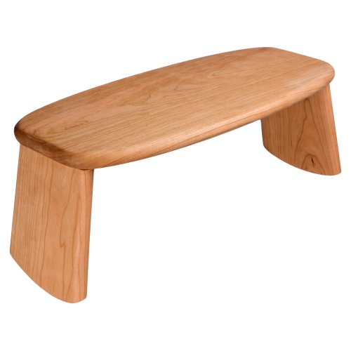 CalmingBreath Cherrywood Folding Meditation Stool