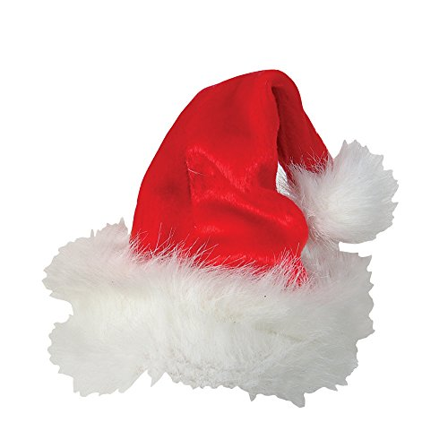 Plush Santa Hat Youth Size - 1