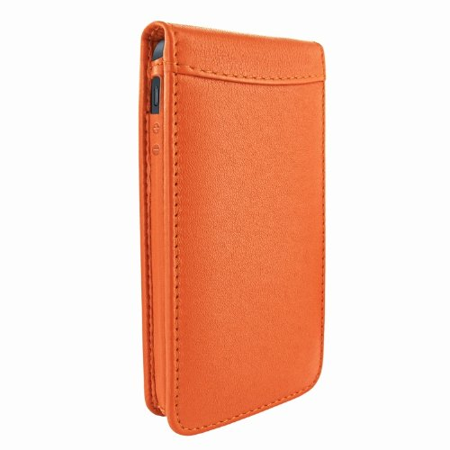Great Price Apple iPhone 5 / 5S Piel Frama Orange Magnetic Leather Cover