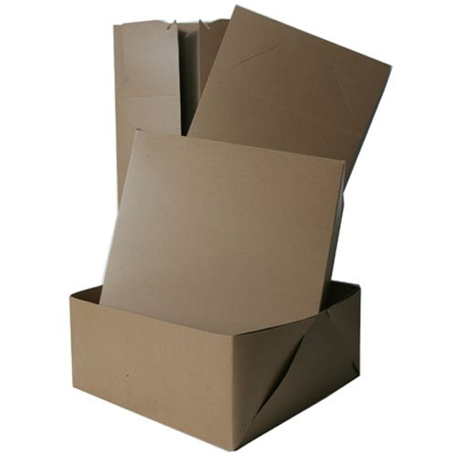 9x9x5 Full Lid Kraft Gift Box - Sold individually