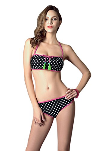 Highsurround Tupfen-Bikinis Neue