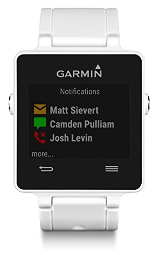 Garmin Vivoactive Sports SmartWatch (White) w/ Garmin Vivoactive Replacement Band...