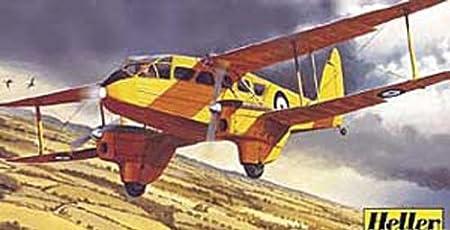 Heller - 80345 - Construction Et Maquettes - Dh 89 Dragon Rapide - Echelle 1/72ème