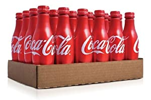 Coca Cola Aluminum Bottle,24 bottles,8.5 fl oz per bottle