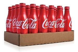 Coca Cola Aluminum Bottle,24 bottles,8.5 fl oz per bottle
