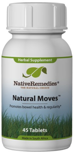 Natural Moves - Constipation Relief, 45 Tablets,(Native Remedies)