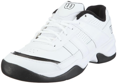 Wilson Pro Staff Court Men Tennis Shoes, Color- White/Black, Size- 9 UK