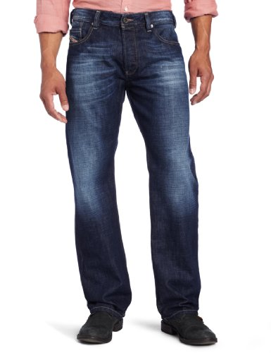Diesel Men's Larkee Relaxed Straight Leg Jean, Denim, 31x30