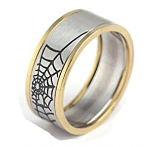 gold plated 316 stainless steel spider web