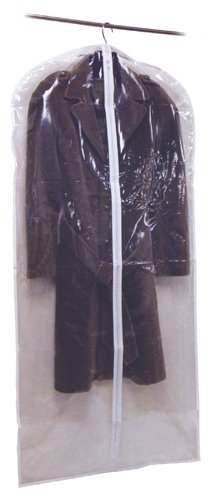 Clear Garment Bag 24″ x 54″, Bags Central