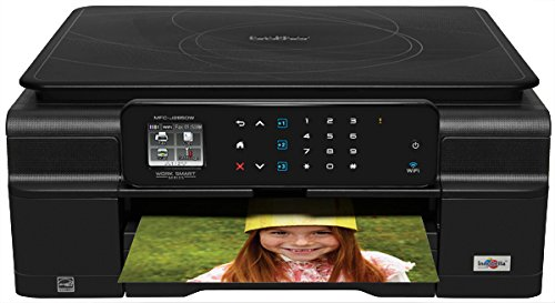 Brother Mfcj285Dw Wireless Color Photo Printer With Scanner, Copier And Fax
