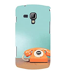 Fuson Premium Printed Hard Plastic Back Case Cover for Samsung Galaxy S Duos S7562
