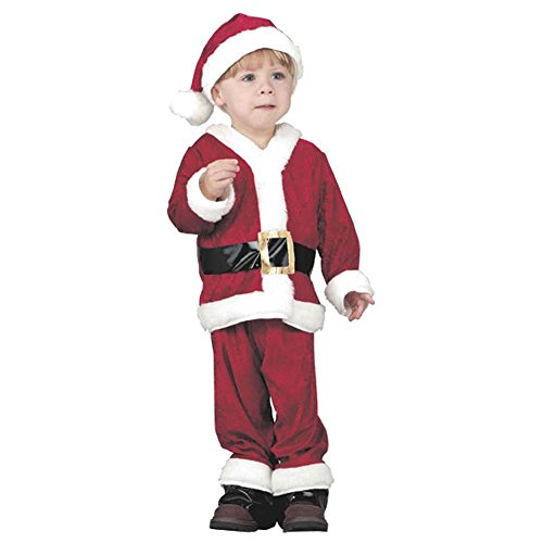 Child's Toddler Santa Claus Halloween Costume (1-2T)
