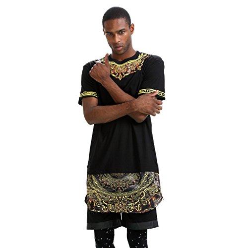 camiseta-larga-con-aplicacion-tejida-y-cremallera-de-extension-de-pizoff-gold-plain-floral-leatheret