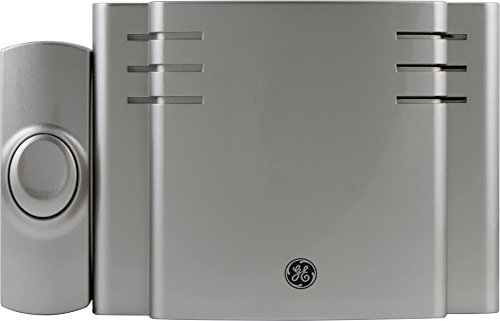 GE 19303 Battery-Operated Wireless Door Chime