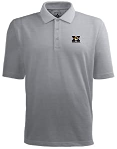 Missouri Pique Xtra Lite Polo Shirt (Grey) by Antigua