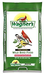 Wagner\'s 13004 Four Season Wild Bird Food, 20-Pound Bag