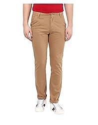 Yepme Men's Brown Cotton Pants - YPMPANT0081_28