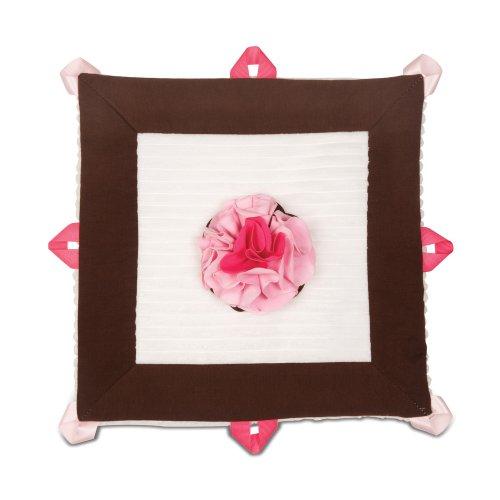 """Pavilion Gift Company Lovie Baby Blanket, Strawberry Sundae, 13"""""""