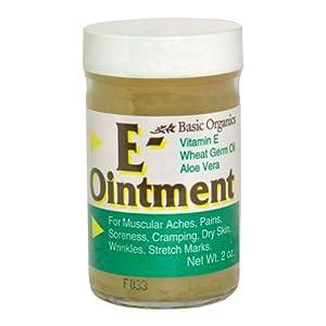 Vitamin E Natural Ointment - 2 Oz