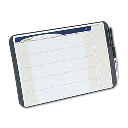 QRTCT1711 - Quartet Designer Tack Write Erasable Monthly Calendars