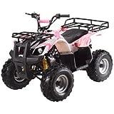 ATA-110D TaoTao Kids Gas 110cc Utility ATV - Pink Camo