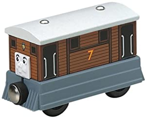 Thomas And Friends Wooden Railway - Toby The Tram Engine