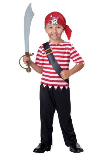 Little Boys' Toddler Pirate Costume