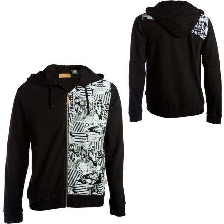 Dragon Frenzy Full-Zip Hooded Sweatshirt - Men's