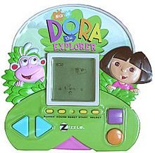 Dora the Explorer Handheld Electronic Game - 1