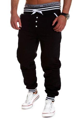 MT Styles - MT-53 - Pantaloni sportivi tuta - Nero - M