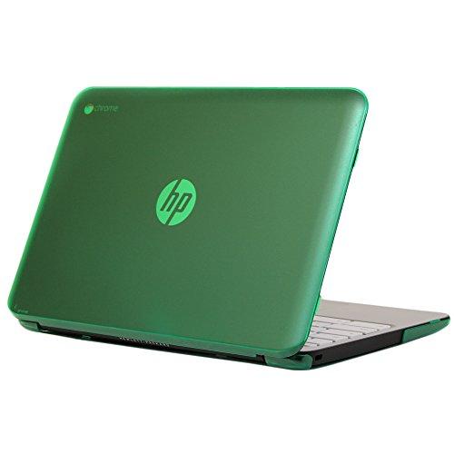 "Ipearl Mcover Hard Shell Case For 11.6"" Hp Chromebook 11 G2 / G3 Laptops (Green)"