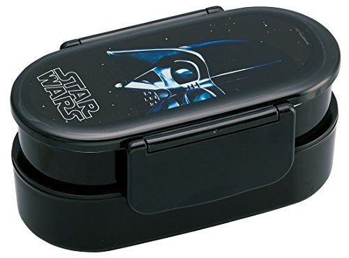 Tight lunch box 2-stage with chopsticks 670ml Star Wars Darth Vader by N/A