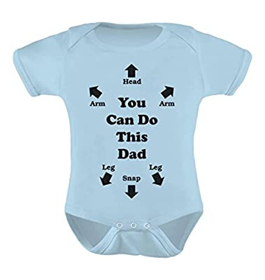 You Can Do This Dad - Funny Bodysuit Christmas Gift Cute Baby Onesie