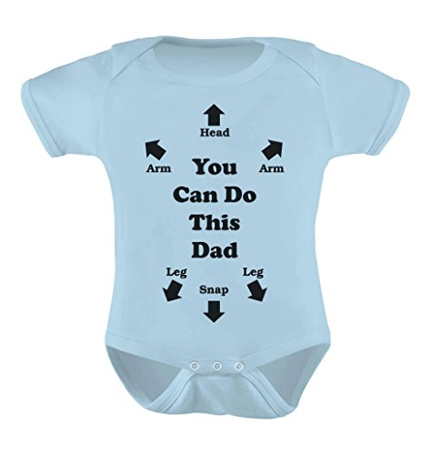 TeeStars Unisex- You Can Do This Dad Baby Onesie