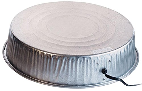 Farm Innovators Model HP-125 Heated Base For Metal Poultry Founts, 125-Watt (Galvanized Waterer compare prices)